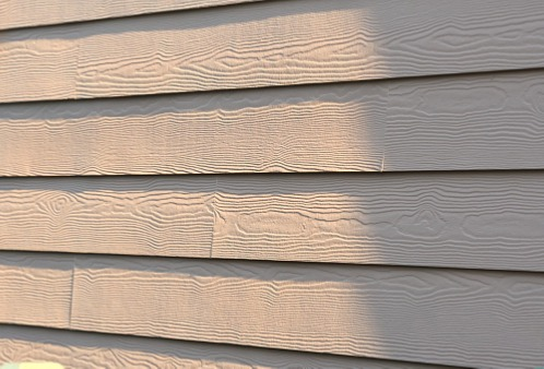Newly installed siding by a Siding Contractor